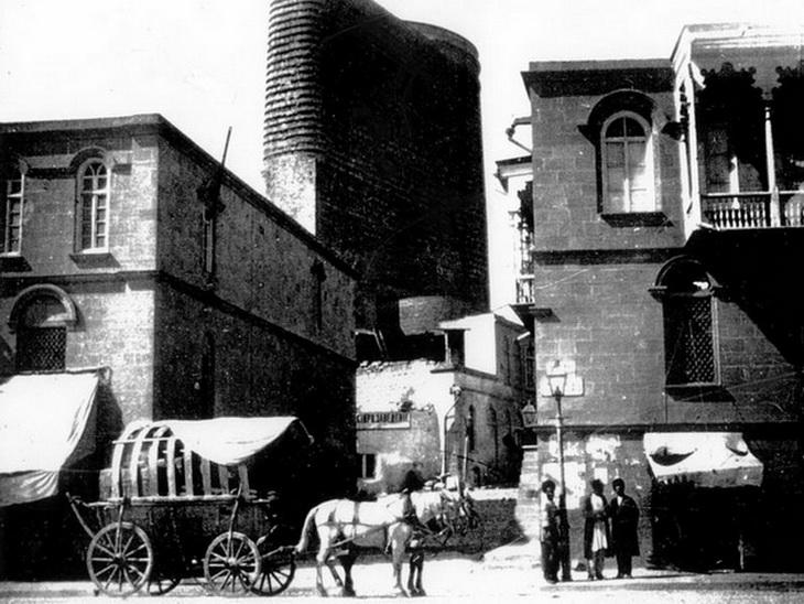 Баку в начале 20 века (30 фотографий)