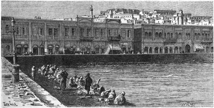Баку в 1870-1880-х гг. на гравюрах Т.Тейлора (ФОТО)