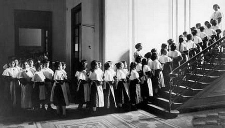 Первая школа для девочек-мусульманок в Баку (ФОТО)