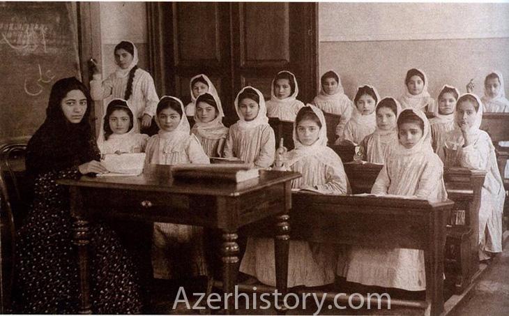 Первая женская мусульманская школа на Востоке - в Баку