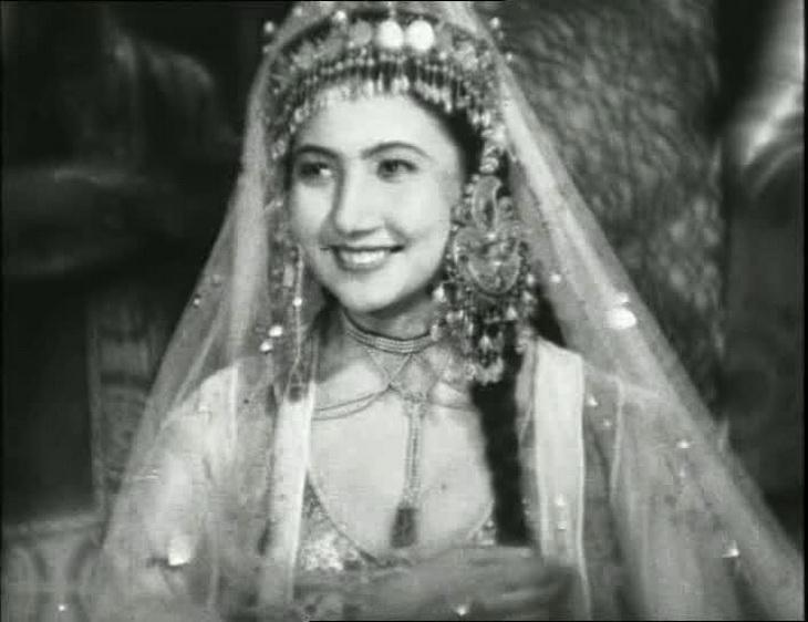 Кадр из фильма «Тахир и Зухра , 1945 год
