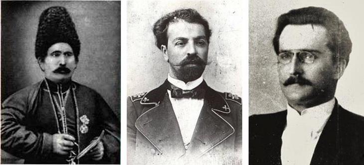 К.Гаджибабабеков, З.Ахмедбеков, И.Плошко