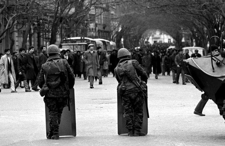 Взрыв энергоблока AzTV в 1990 г. был сигналом к вводу советских войск в Баку