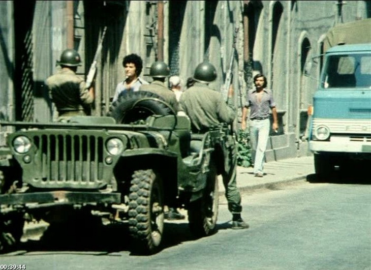 "Баку в фильме ""Ночи над Чили"" 1977 года (18 ФОТО)"