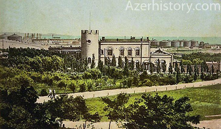 Villa Petrolеa - зеленый уголок нефтяного Баку