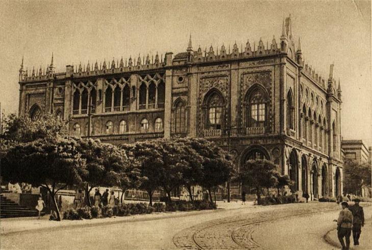 Исторический взгляд на здание Исмаилие в Баку (32 ФОТО)