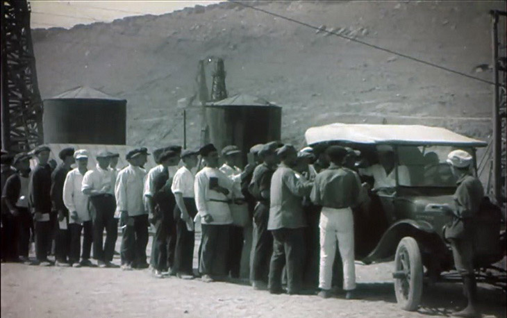 Кинохроника 30-х годов: трудовые будни Баку (21 ФОТО)