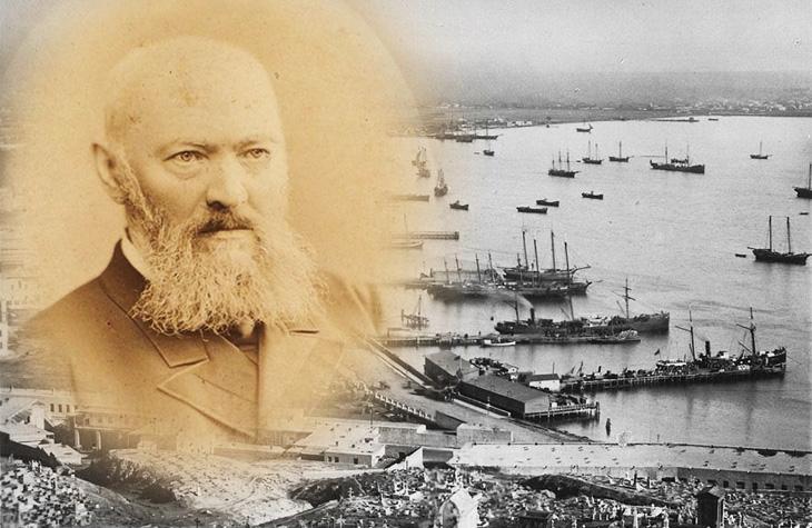 Русский драматург Островский и Баку