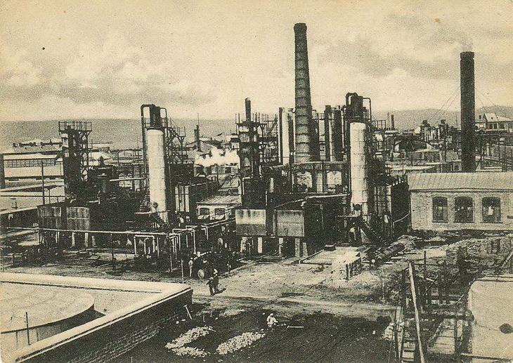 Промышленный Баку на открытках 1920-1930-х годов (26 ФОТО)