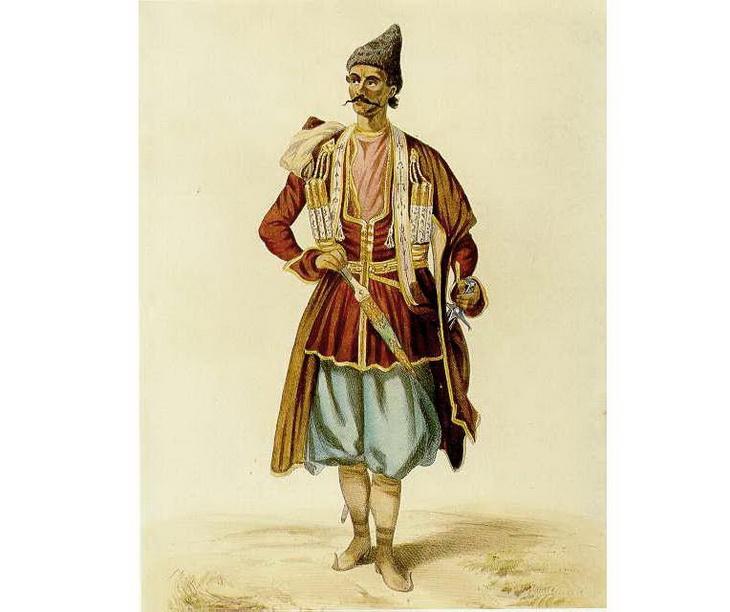 1840-1853. Бек из Карабаха.