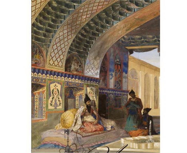 1840-1853. В резиденции Эриванского хана.