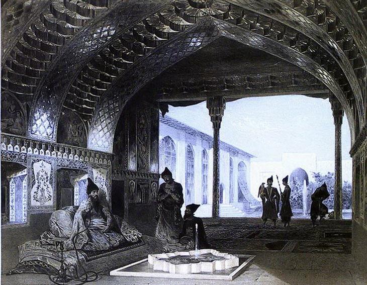 1840-1853. В резиденции Эриванского хана