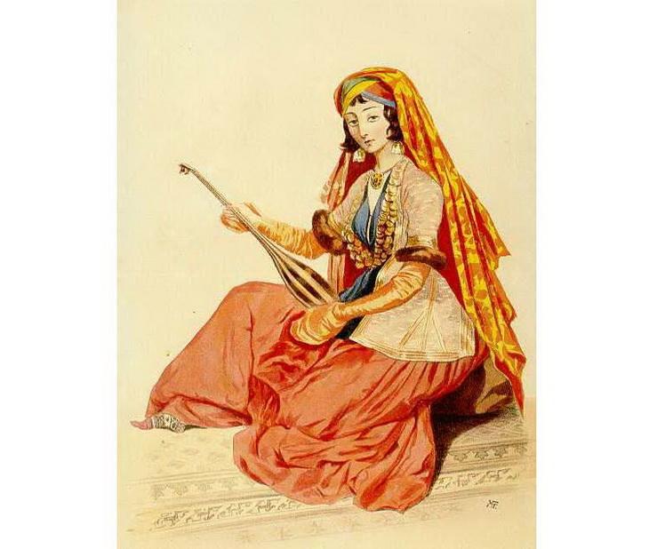 1840-1853. Жительница Шемахи