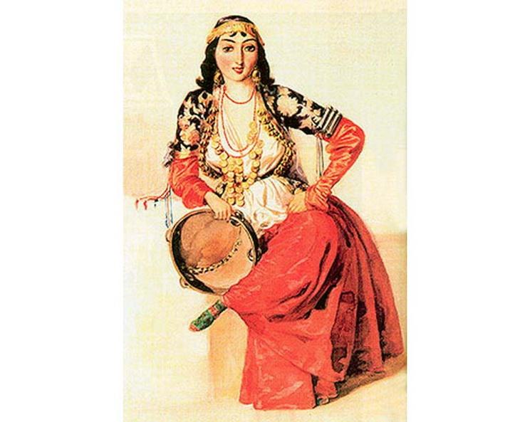 1840-1853. Танцовщица из Шемахи