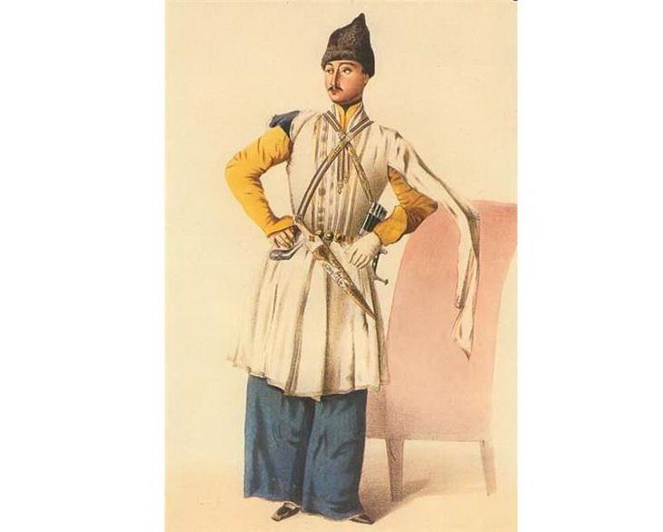1840-1853. офицер из Шемахи