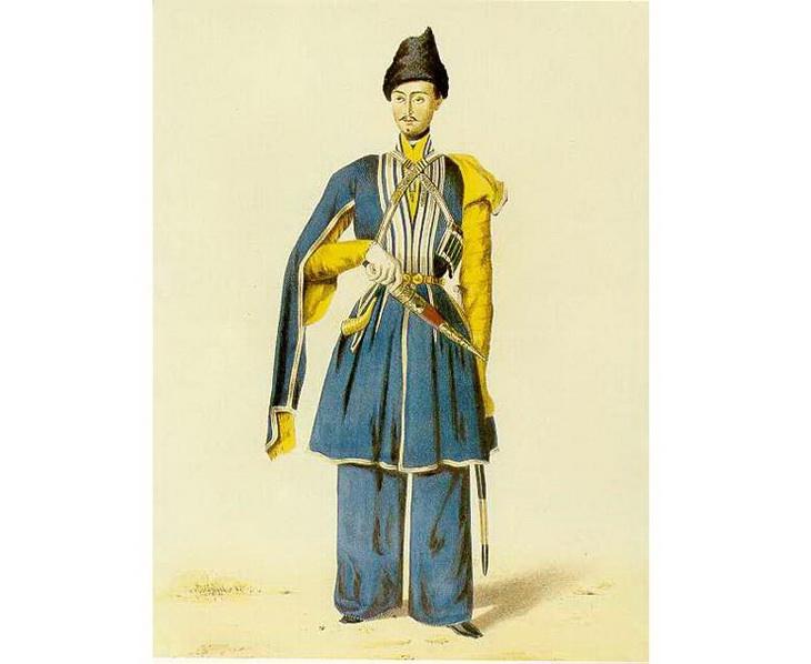 1840-1863. Офицер конницы Кенгерли