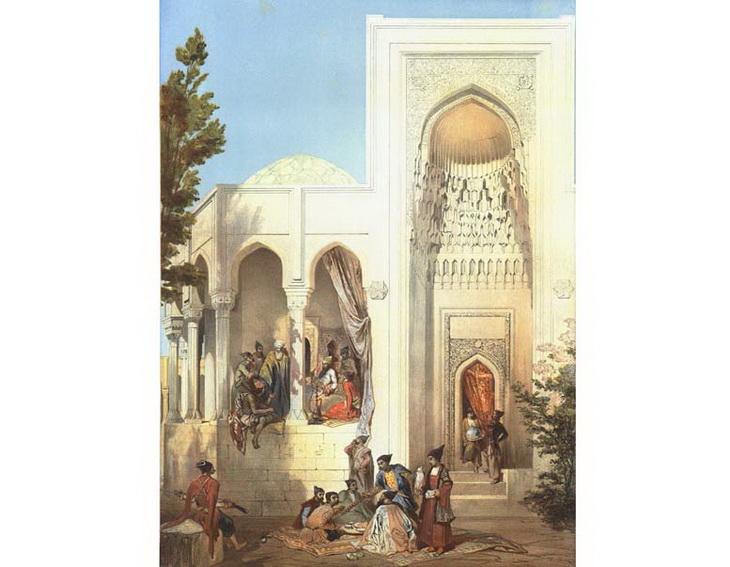 1842-1853.-Дворец Ширваншахов