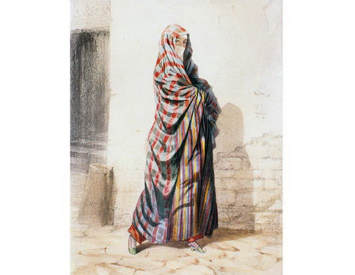 1842-1853. Женщина из Баку.