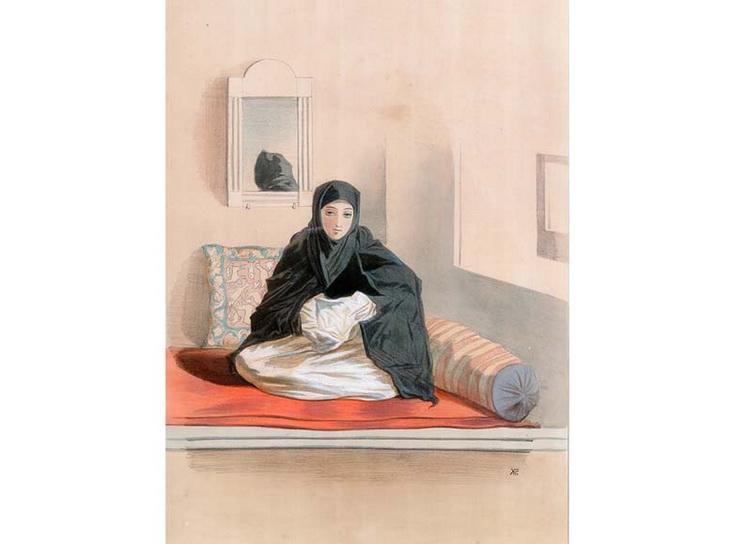 1842-1853. Женщина из Баку