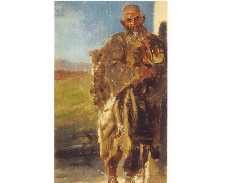 1842-1853. Огнепоклонник-гебр.