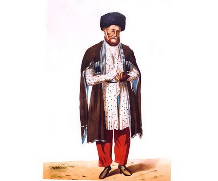 1842. Бакинский купец