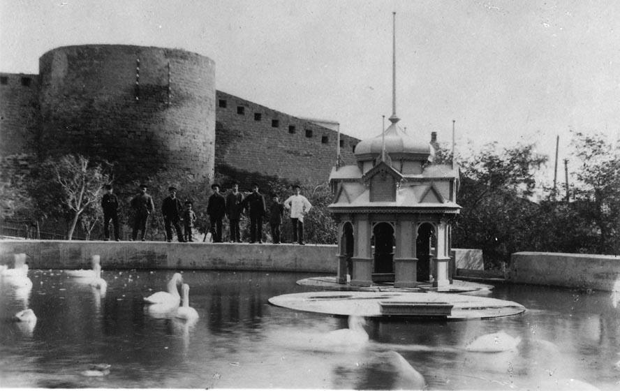 Губернаторский сад Баку в 1900 году и ранее (16 ФОТО)