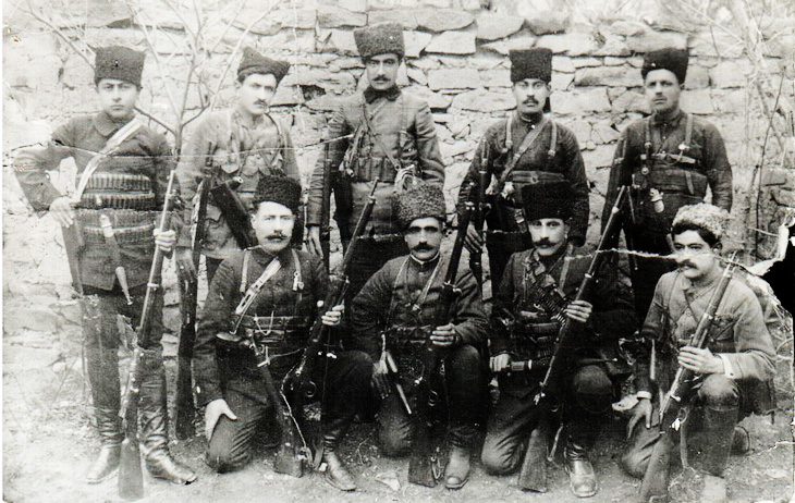 Армия Азербайджана времен АДР (28 ФОТО)