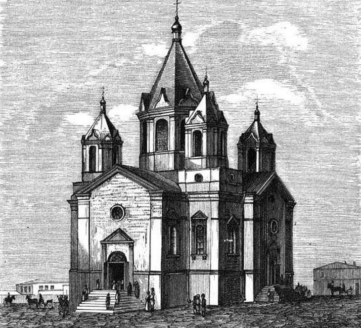 Баиловская портовая церковь: исчезнувшая красота
