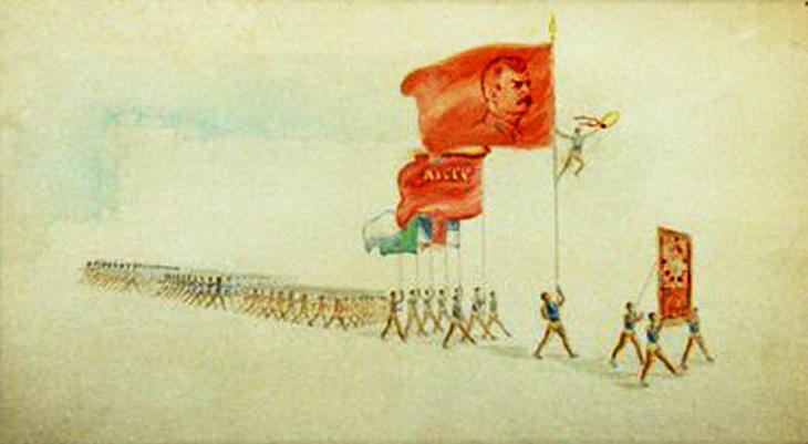Работы азербайджанского художника-плакатиста Исмаила Ахундова (14 ФОТО)