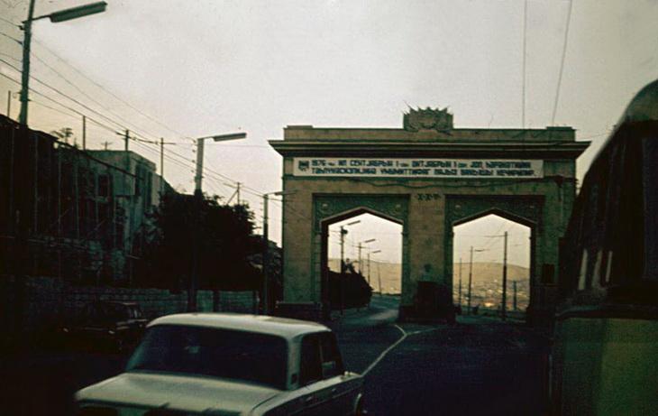 Баку в сентябре 1976 года (23 ФОТО)