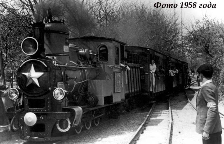 История детской железной дороги в Баку