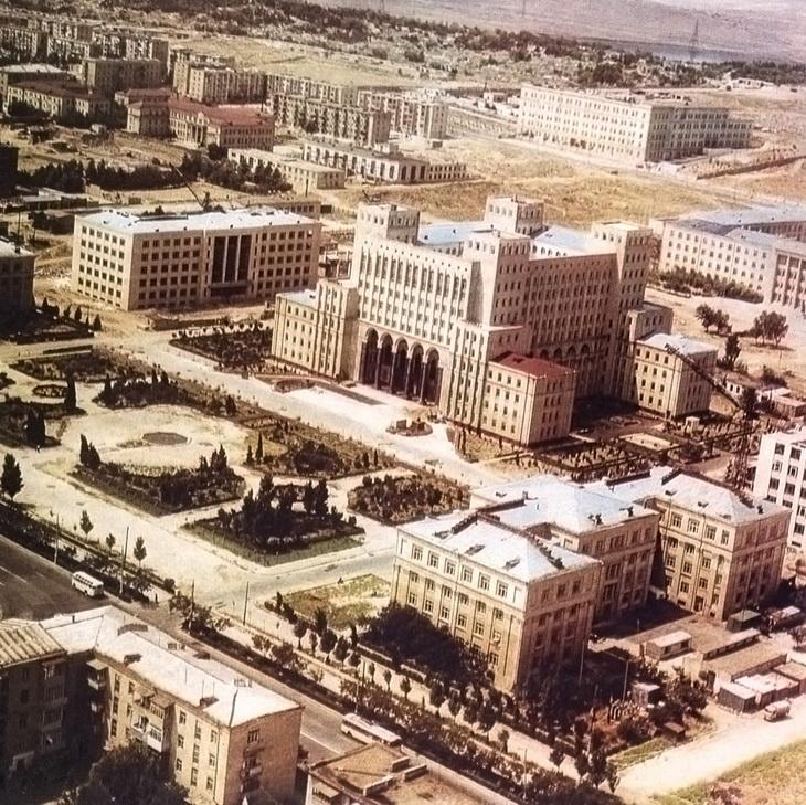 Баку конца 1960х - начала 1970х годов (78 ФОТО)