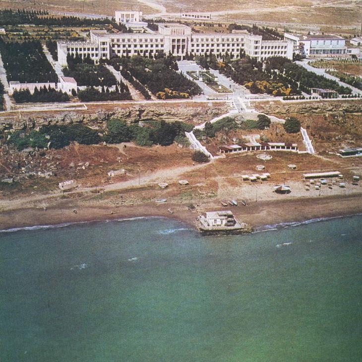 Баку советских времен: Абшерон, Каспий, нефть (16 ФОТО)