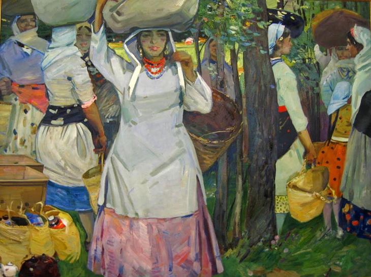 Бёюкага Мирзазаде. «Сбор урожая» (1963)