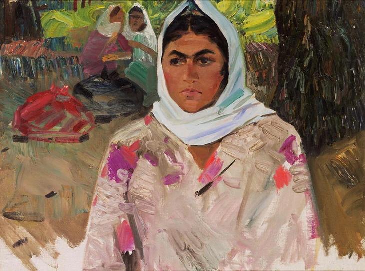 Бёюкага Мирзазаде. Портрет крестьянки
