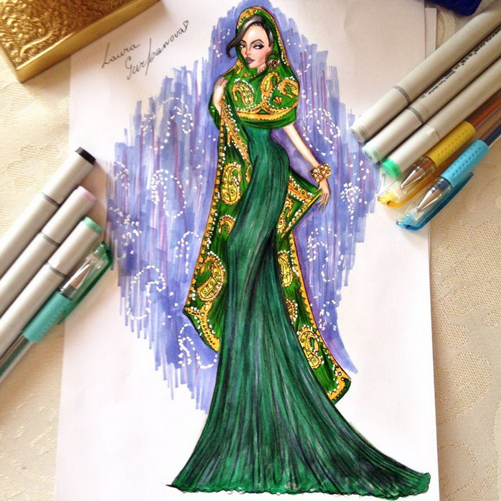 Лаура Гурбанова. «Проект Семь красавиц»