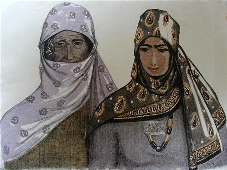 Марал Рахманзаде. «Женщины»