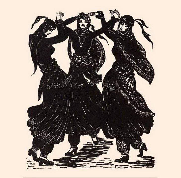 Марал Рахманзаде. «Танец»