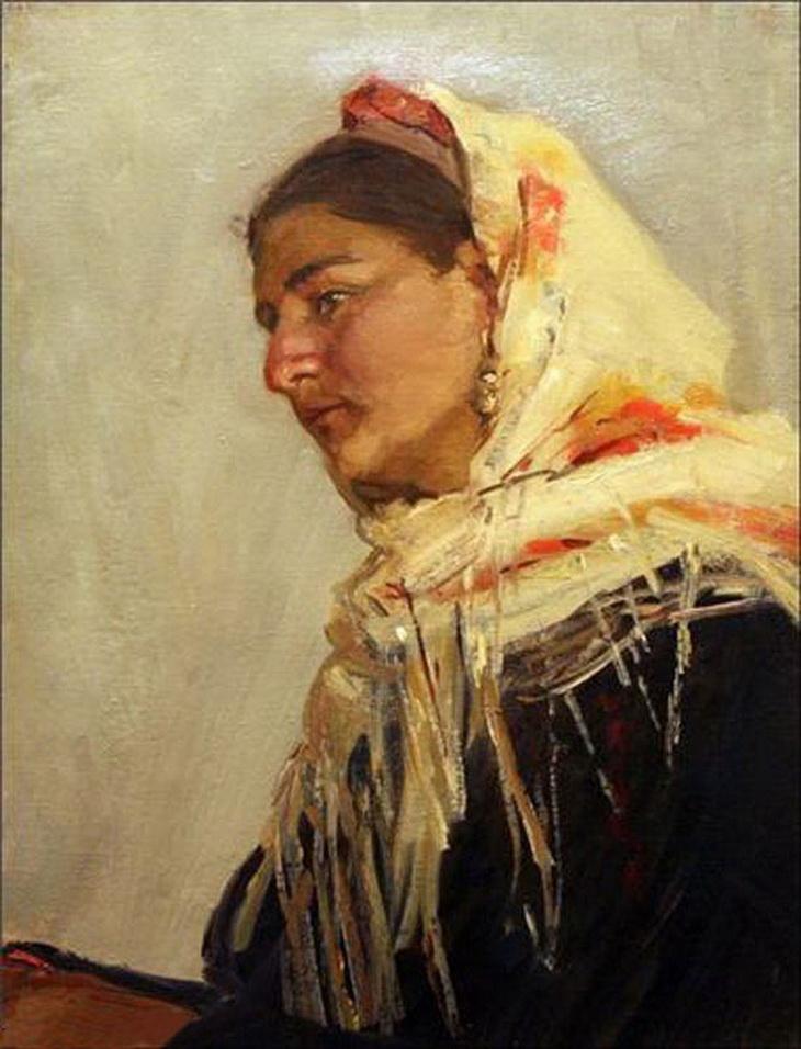 Микаил Абдуллаев. «Портрет бригадирши Рахшанды» (1954-1955)
