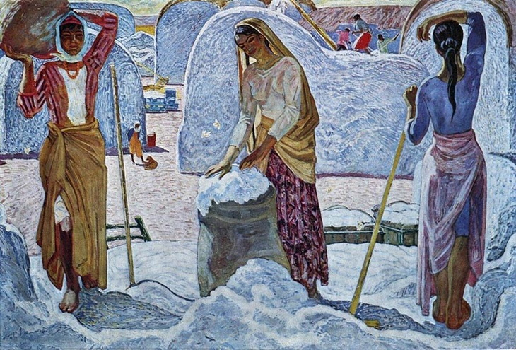 Микаил Абдуллаев. «Хлопок» (1977)
