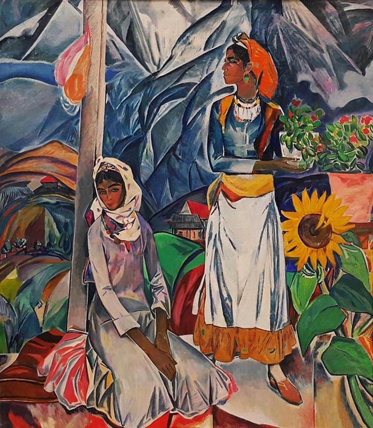 Надир Абдурахманов. «Смотря в горы» (1970)