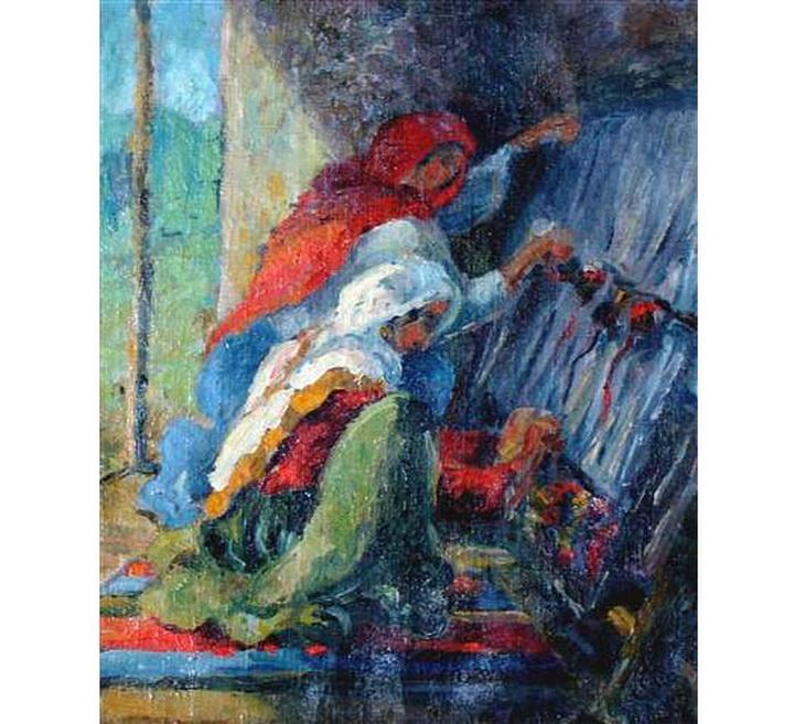 Наталья Миклашевская. «Ковровщицы» (1937
