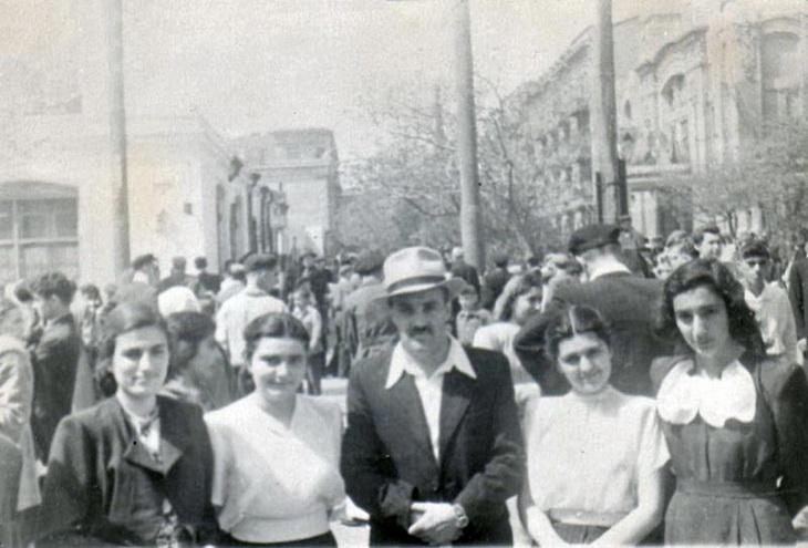 Бакинцы в 1940-1949 годах (ФОТО)