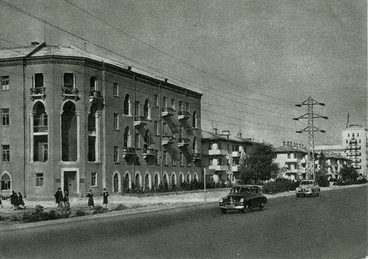 Баку на открытках 1954 года (23 ФОТО)