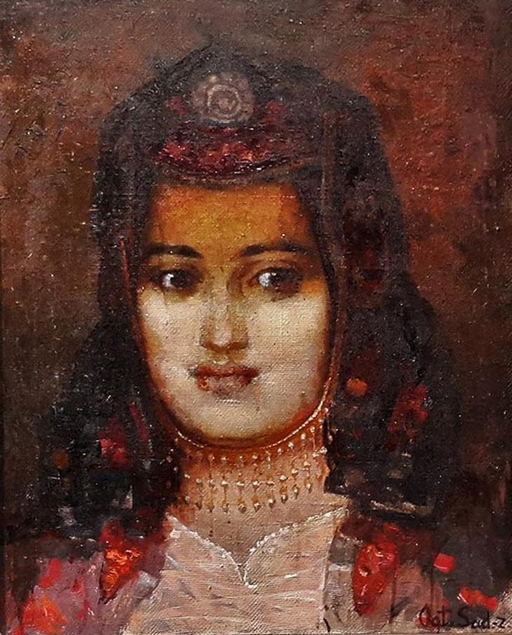 Октай Садыхзаде. «Ордубадская девушка» (1970-е)