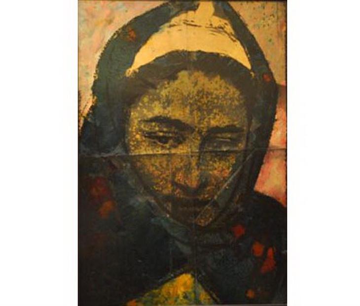 Октай Садыхзаде. Женский портрет