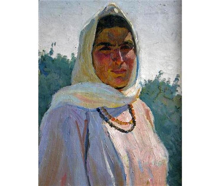 Салам Саламзаде. «Под солнцем» (1958)