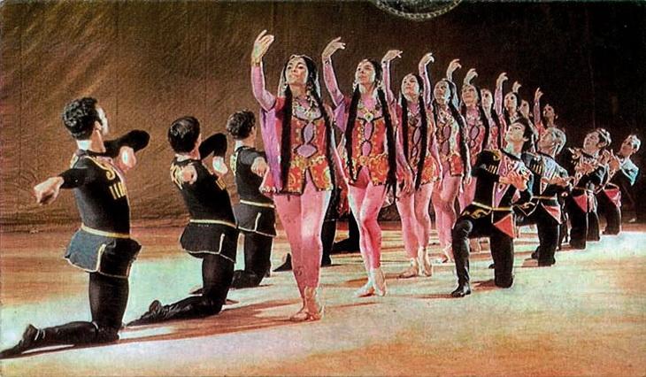 Открытки 1970-х: Азербайджанский балет в фотографиях (ФОТО)