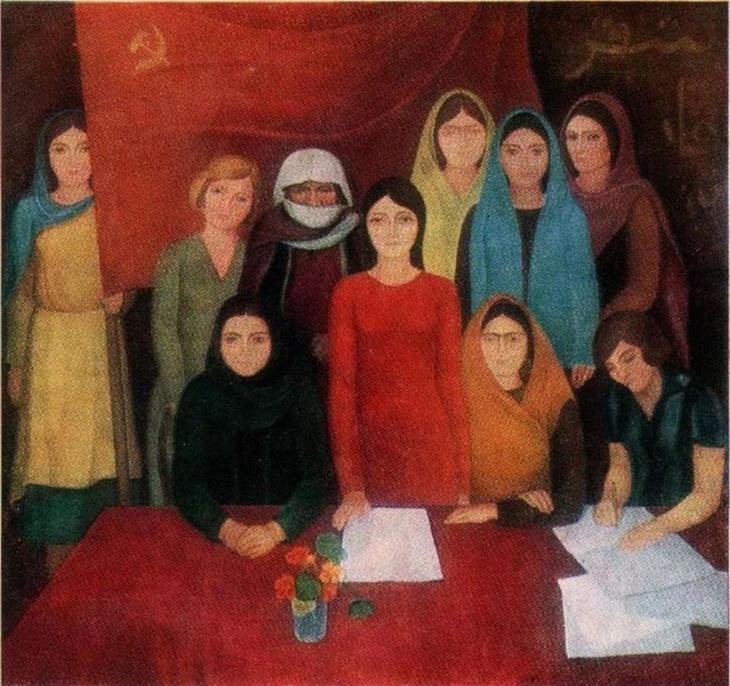 С.Намитокова-Манафова. «Съезд женщин Востока». (1977)