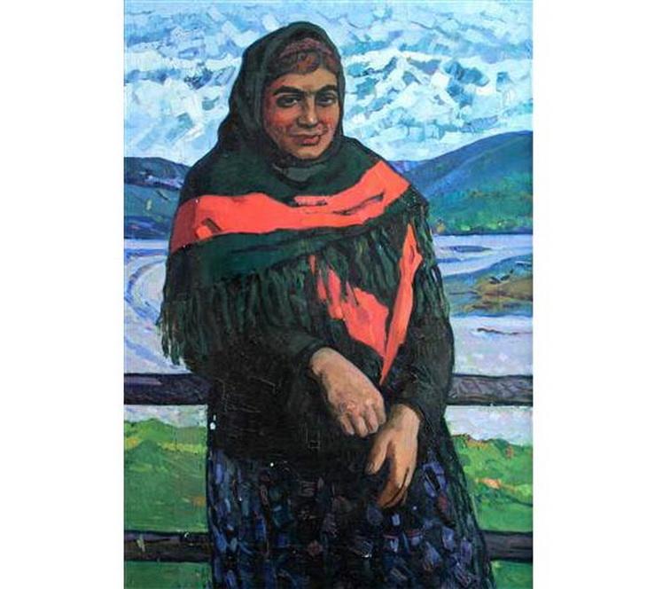 Таги Тагиев. Женский портрет